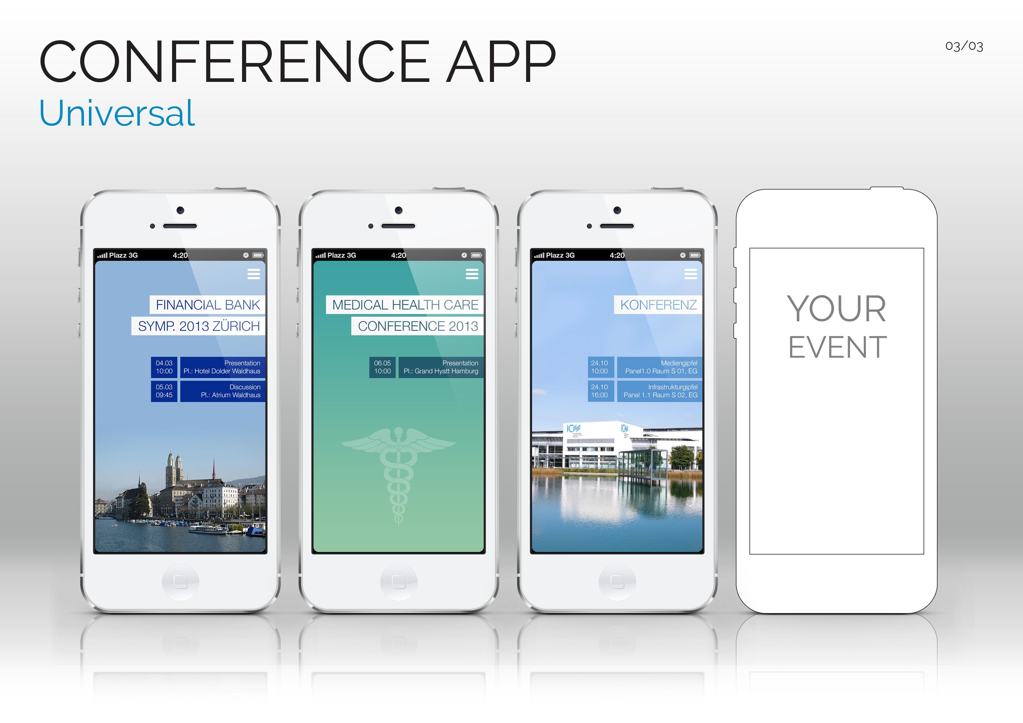 App f. Konferenz