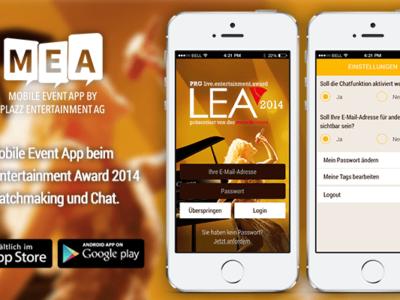 Matchmaking und Chat – die Mobile Event App beim LEA