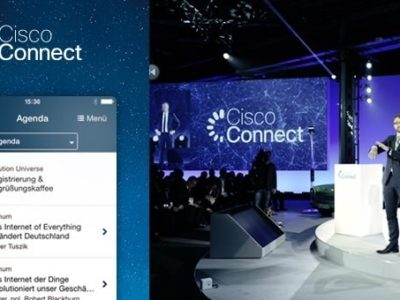 Cisco Connect 2014: Mobile Event App mit Sales-Leadmanagement Funktion & zusätzlicher Check-In App