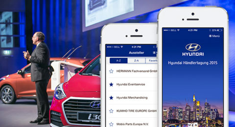 Hyundai Händlertagung 2015 mit der MEA