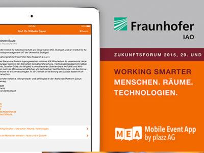 Fraunhofer Zukunftsforum 2015