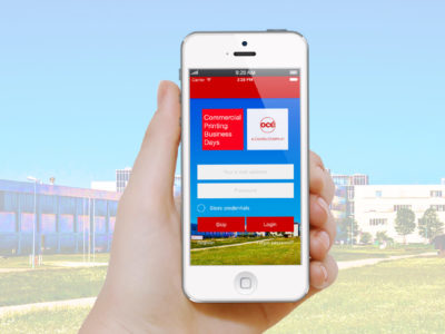 Océ-App für die Commercial Printing Business Days