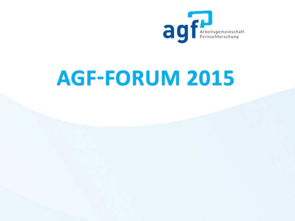 AGF-Forum 2015