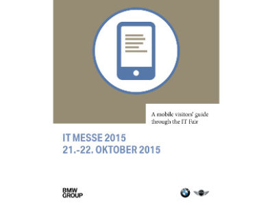 BMW IT Messe 2015 in München mit Mobile Event App von plazz
