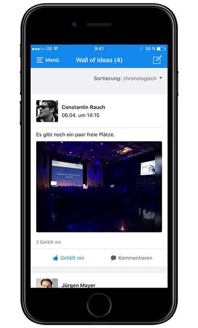 Mobile Event App - Der Baukasten für Ihre Veranstaltungs App