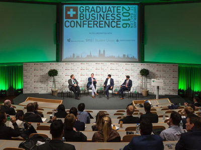 Mobile Event App in St. Gallen beim Graduate Business Forum