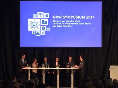 NRW BANK Event thematisiert Daten-Sicherheit beim NRW Symposium