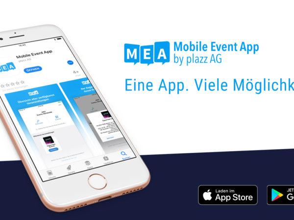Neue Mobile Event App in App Stores verfügbar