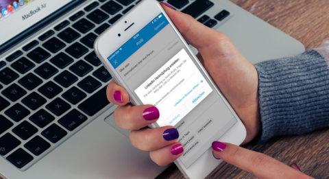Neue Funktion Social Connect von XING und LinkedIn