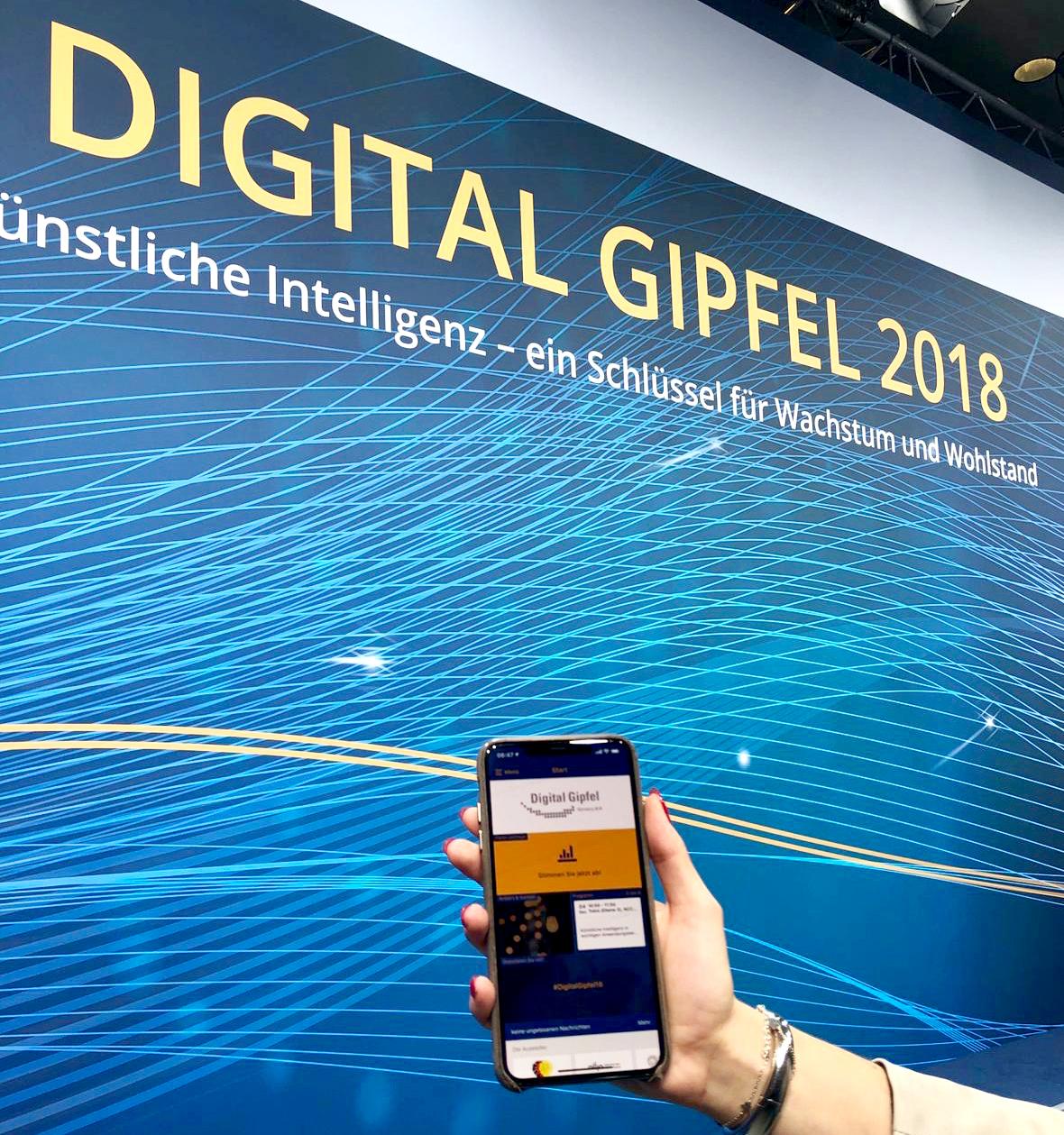 Digital Gipfel mit App