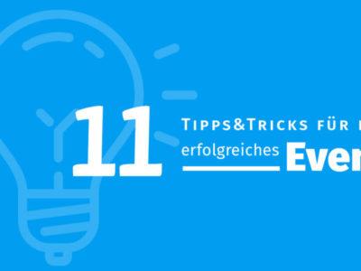 Tipps und Features, mit denen Sie 2019 Ihr Event zum Erfolg machen