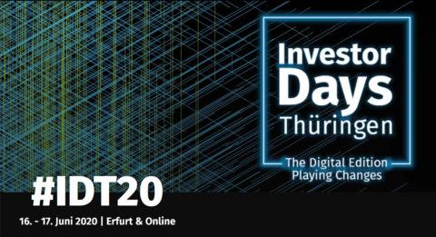investor days 2020 event app