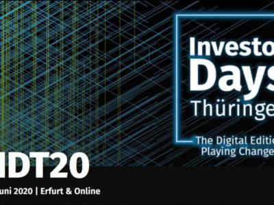 Investor Days Thüringen 2020