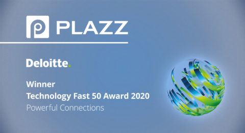 plazz AG fast50 award winner