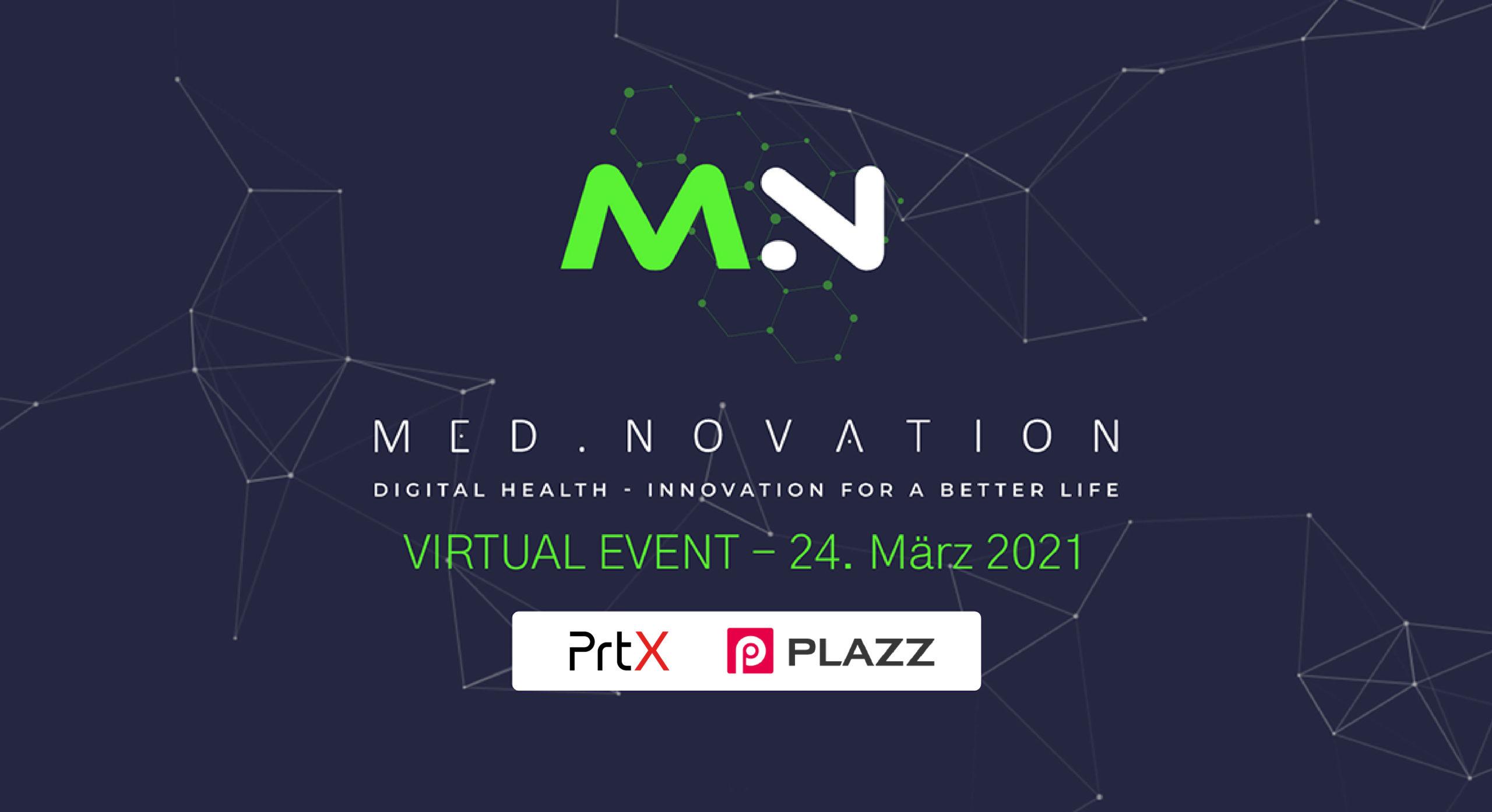 plazz AG als technischer Partner der MED.NOVATION