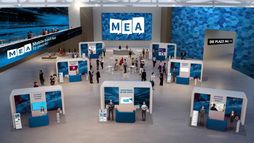 MEA virtual Showfloor
