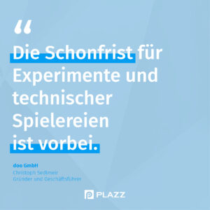 Christoph Sedlmeir Zitat